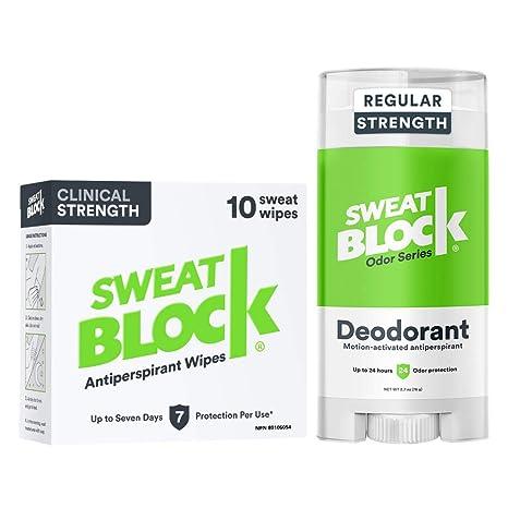 SweatBlock Antiperspirant Sweat Block Direct from Manufacturer Best Seller
