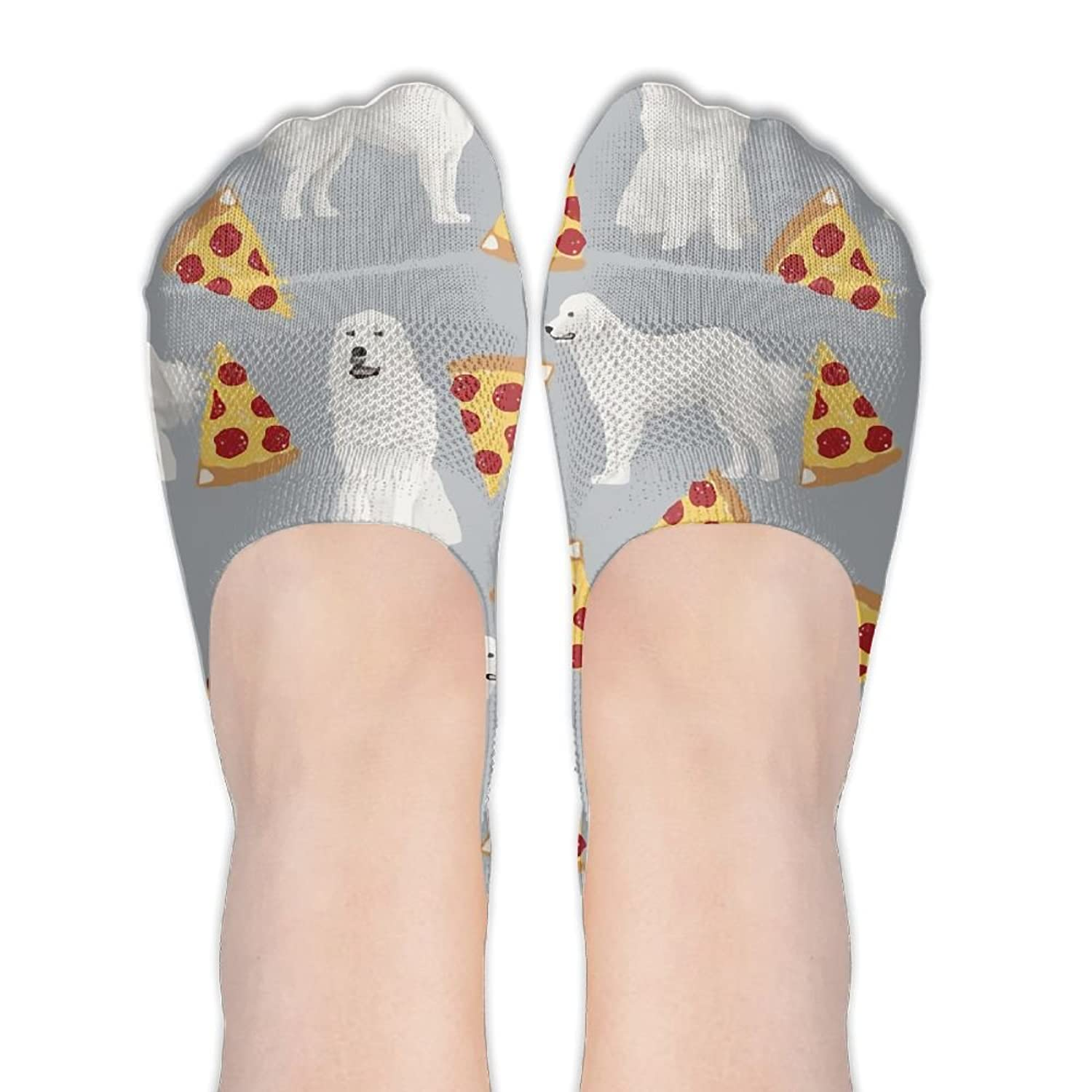 Great Pyrenees Grey.jpg Print Antiskid And Lovely Special Women's Sock One Size