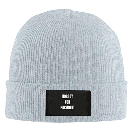 LOZWES Nobody For President.PNG New Winter Hats Knitted Twist Cap ...