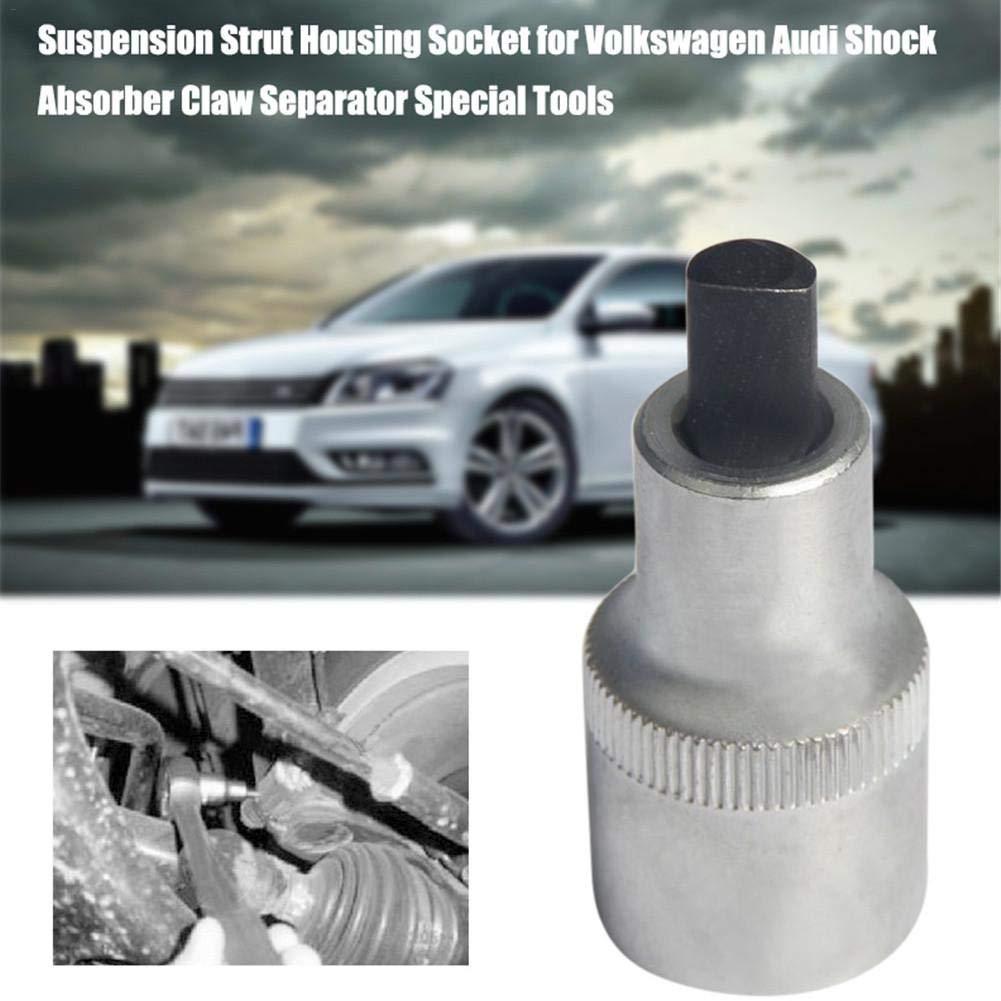 Purplert Separador Herramientas Especiales Columna de suspensi/ón Casquillo de la Carcasa para Volkswagen Audi Amortiguador Garra-Plata