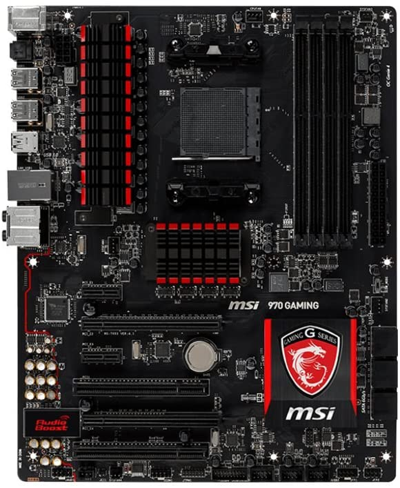 MSI 970 GAMING DDR3 2133 ATX AMD Motherboard