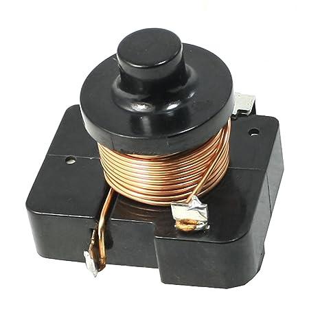 Sourcingmap® Electromagnética relé del compresor de Arranque del relé de 1/3 HP Nevera