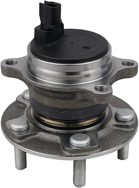 REAR PAIR For 2012-2016 Ford Focus Non-Auto Parking Model Wheel Hub Replacement