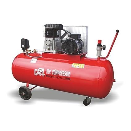 GGA compresor correa lubricado, 100 L, 2 CV, motor monofásico