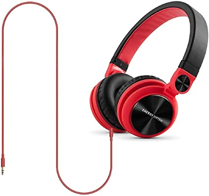 ea02e3561fd Energy Sistem DJ2 Headphones RED: Buy Energy Sistem DJ2 Headphones RED  Online at Low Price in India - Amazon.in