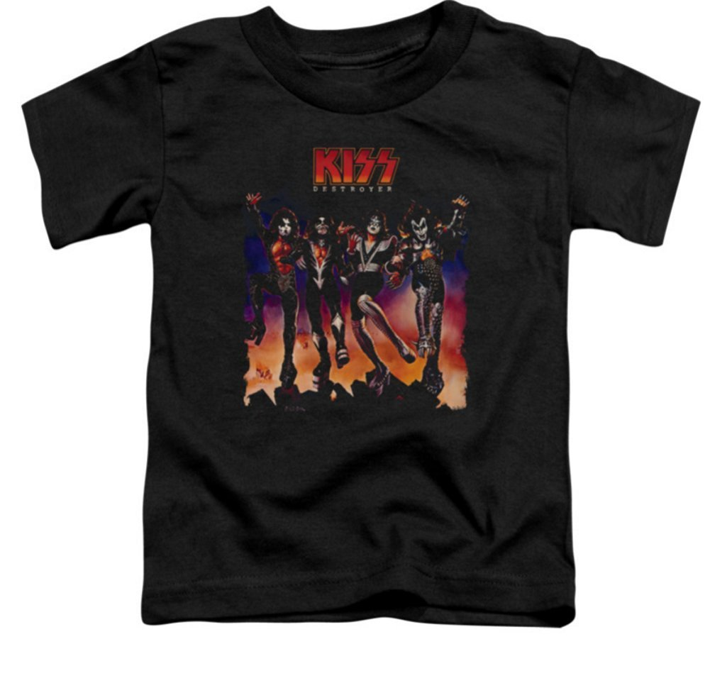 Kiss Destroyer Cover Tshirt