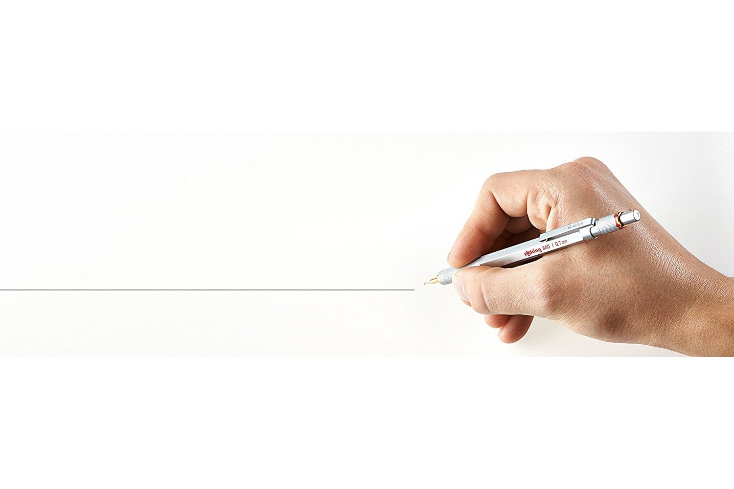 rOtring 1904449 800 Retractable Mechanical Pencil, 0.5 mm, Silver Barrel by Rotring (Image #6)