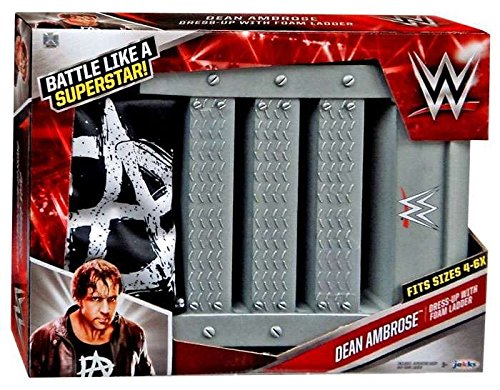 WWE Dean Ambrose Dress Up with Ladder Power Prop Playset