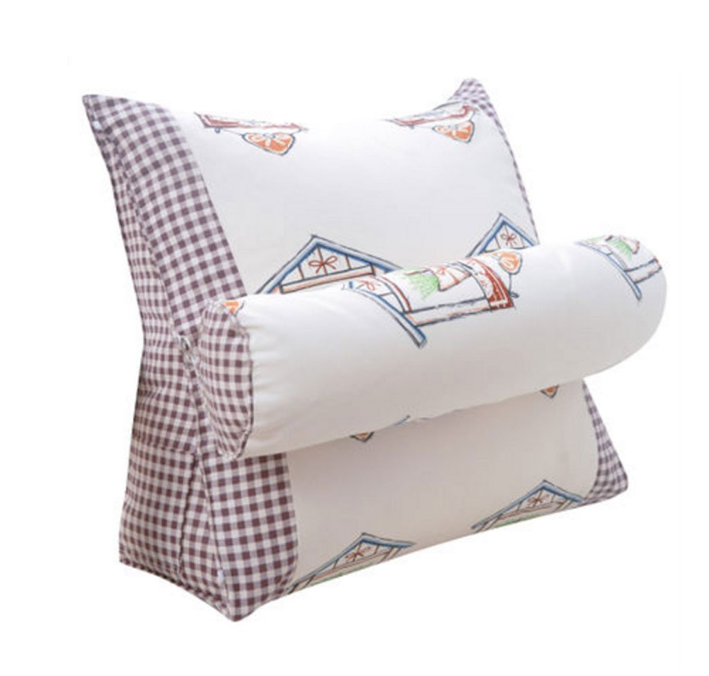 DUHUI Headboard Triangle Cushion Soft backrest Cushion ...