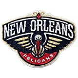 Official New Orleans Pelicans Logo Large Sticker Iron On NBA Basketball Patch Emblem