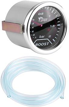 50mm LED Boost Gauge Bar Turbo Boost Gauge Turbo Boost Meter DRU Cuque Excellent Car Boost Gauge 2 Inch