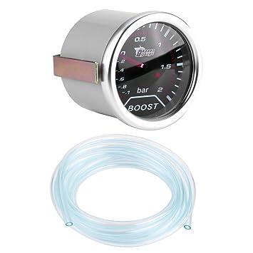 Kit de Manómetro Turbo Universal 30 PSI con Manguera de PVC: Amazon.es: Coche y moto
