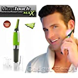 Gadget Hero'S Microtouch Max Nose, Ear, Facial, Eyebrows & Body Hair Trimmer (Green)