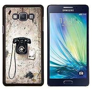 Stuss Case / Funda Carcasa protectora - Viejo Rotary Vintage Vignette Teléfono con cable - Samsung Galaxy A7 ( A7000 )