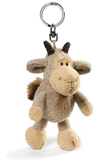 NICI 32512 Jolly Gustav - Llavero de cabra de peluche (10 cm ...