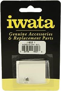 Iwata-Medea Eclipse Bcs Nozzle Cap,Silver
