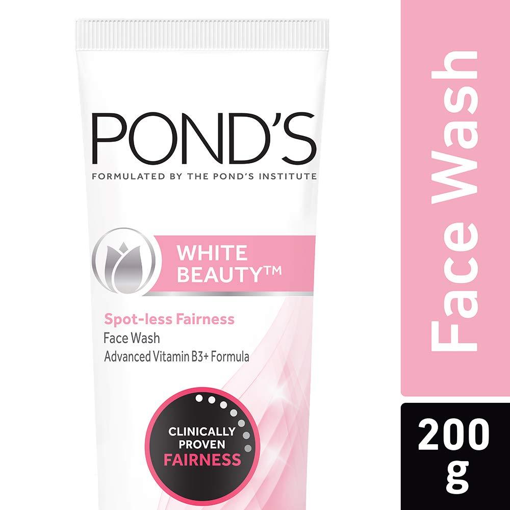Pond's White Beauty Spot Less Fairness Face Wash, 200 g