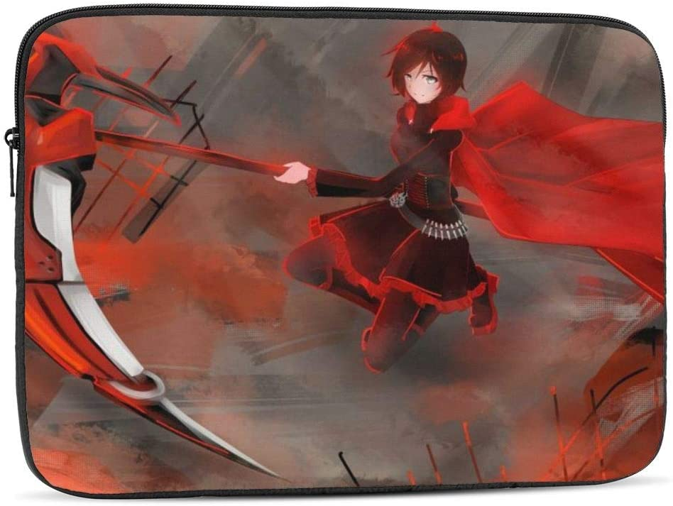RWBY 10 inch Laptop Sleeve Bag, Shock Resistant Notebook Protective Bag Carrying Case Compatible MacBook Pro/MacBook Air