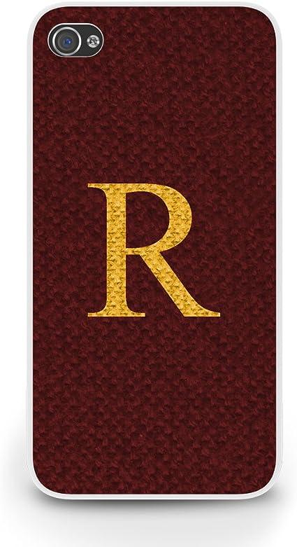 Ron Weasley R Sweater iPhone 5/5S funda - blanco: Amazon ...