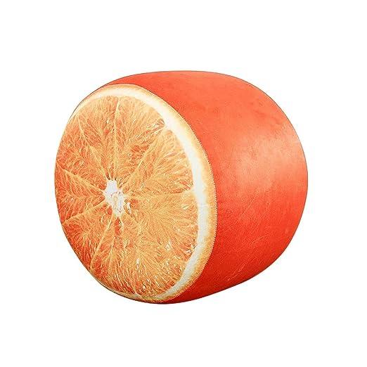 keebgyy - Taburete Hinchable de Felpa para Frutas, portátil ...