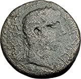 10 IT AUGUSTUS 10AD Thessalonica Macedonia Authentic An coin Good