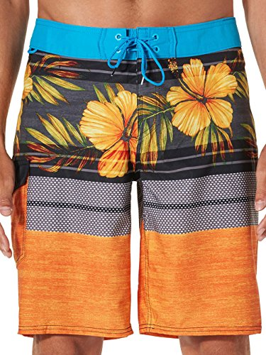 Reef Men's Release Boardshorts Orange Swimsuit Bottoms