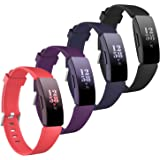 eseekgo 4-Pack Compatible with Fitbit Inspire Hr Bands for Women Men, Compatible with Fitbit Inspire/Inspire 2 Bands…