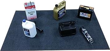 XtremeAuto® - Alfombrilla absorbente para coche, maletero, garaje, cobertizo, 152 x