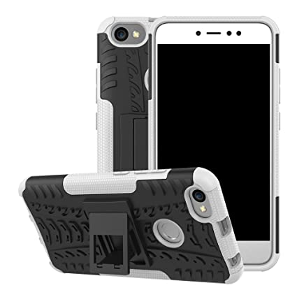 lowest price a5864 69cd2 Xiaomi Redmi Note 5A Case, Xiaomi Redmi Note 5A Prime Hybrid Case, Dual  Layer Shockproof Hybrid Rugged Case Hard Shell Cover with Kickstand for  5.5'' ...