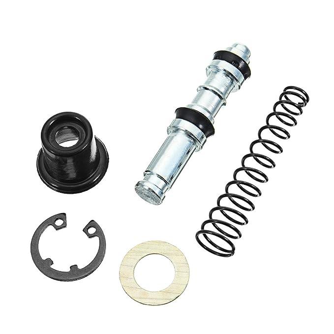 Alamor Moto Embrague Freno Bomba 11 mm pistón émbolo reparación Kits Maestro Cilindro SBXLB-005: Amazon.es: Hogar