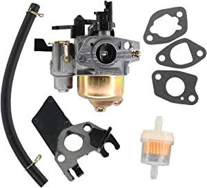 USPEEDA Carburetor Carb for Kohler Series 3000 SH265 6.5 HP 196cc Engine with Insulation