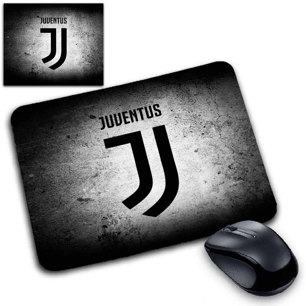 MyCust Tappetino Mouse Pad Personalizzabile sp 2mm Juventus Juve Bianconeri Dybala Wallpaper Stemma