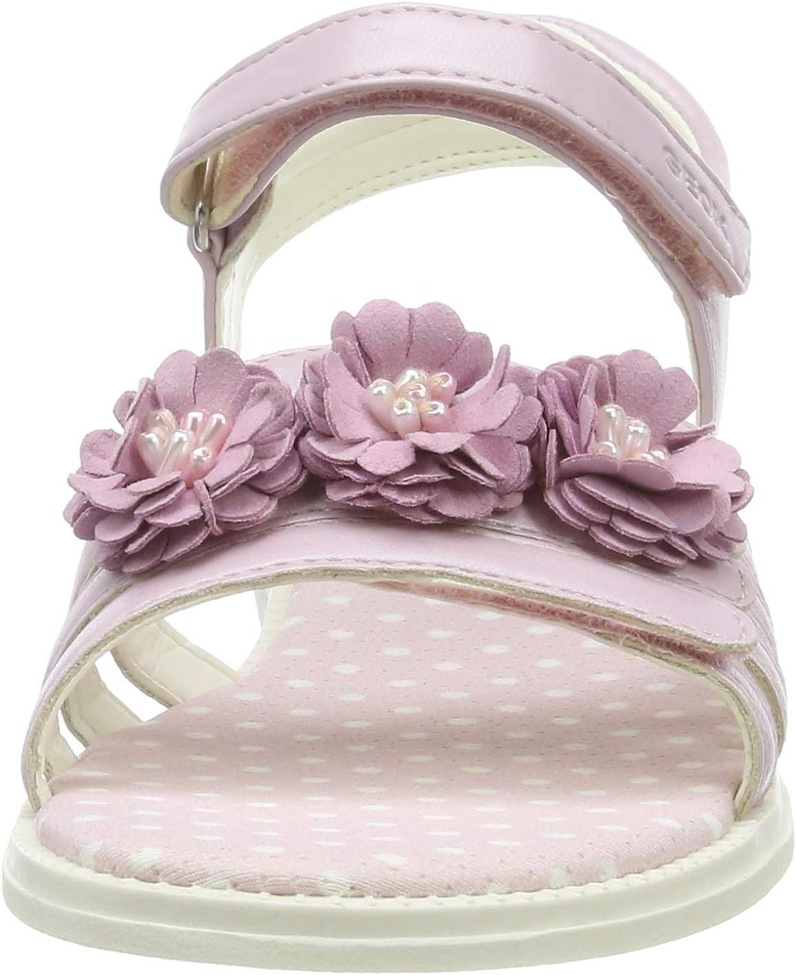 Geox Girls Junior Karly Flower Sandals