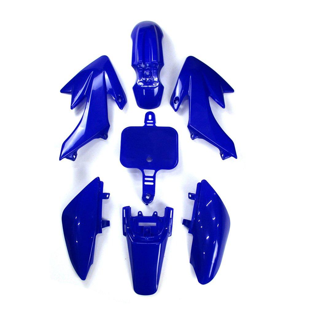Xlyze White Group Motorctcly Plastic Fender Body Work Fairing Kit 50cc Honda Pit Bike For Sdg Ssr Piranha