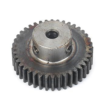Newsmarts 25 Teeth 8mm Bore Metal Steel Gear Wheel 45 Steel Motor Gear Wheel