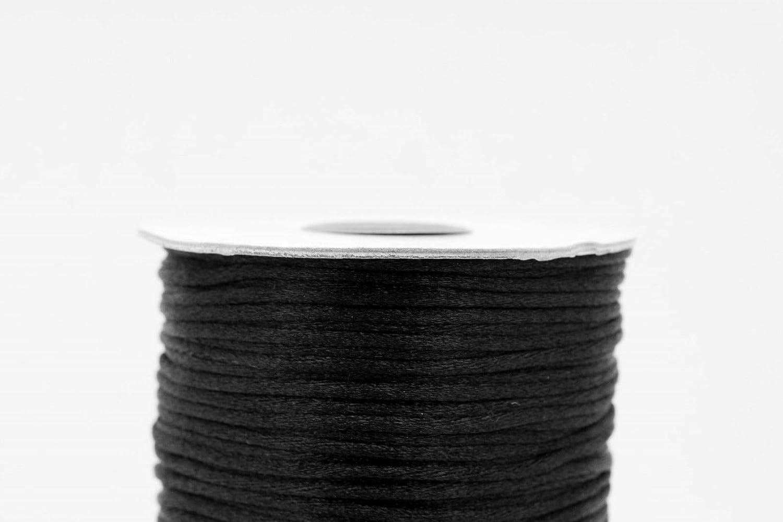/225/metres Clearance 2/mm nero coda di topo Cord/