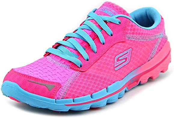 Skechers13600 - Skechers 13600 Mujer, Rosado (Hot Pink/Blue/Bright ...