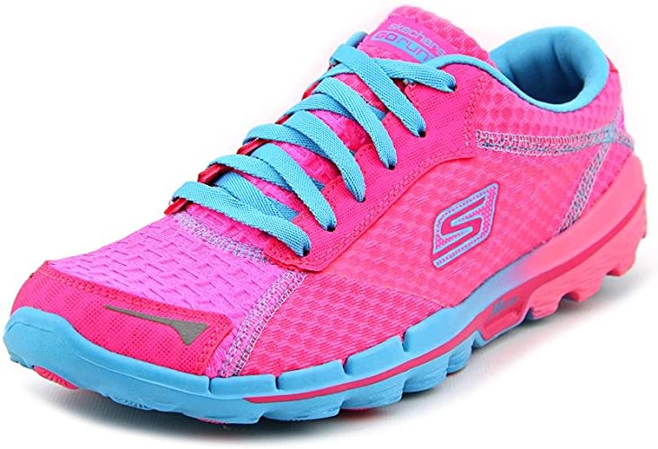 Skechers13600 - Skechers 13600 Mujer, Rosado (Hot Pink/Blue/Bright ...
