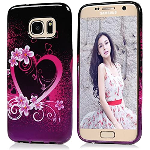 S7 Case,Samsung Galaxy S7 Case,Beautiful Soft TPU Case Shockproof Colorful Painted Fashion Elegant Full Edge Pattern Sales