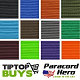 550 Paracord Hero Brand Camo Colors 10' 20' 25' 50' 100' & 300' Spools Free Expedited Shipping When 2 or More 100' Hanks Purchased