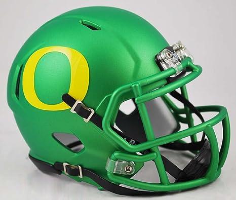 amazon com oregon ducks replica speed mini helmet apple green
