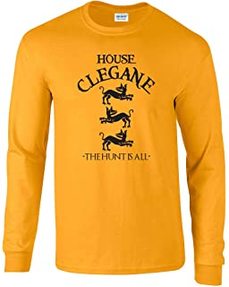 c120becde4 Swaffy Tees 12 House Clegane Funny Men's T Shirt: Amazon.ca ...