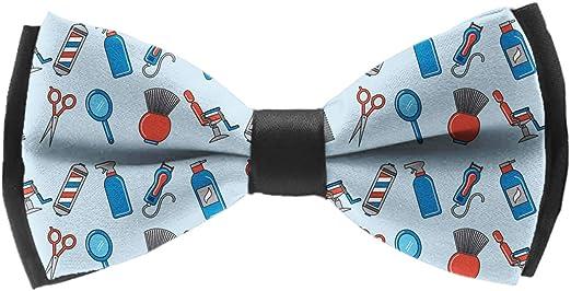 Handmade Formal Pre-Tied Tuxedo Bow Tie for Men-Barber Shop Tools