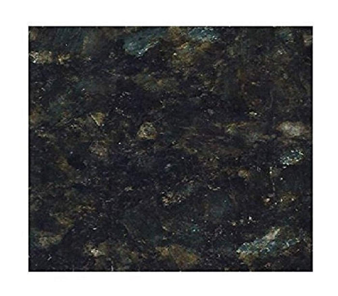 Countertop Paint? No!! Upgrade Counter Tops with Removable Black Marble Granite Bubble Resistant SELF Adhesive PET/PVC Vinyl Film 36'' x 96'' by EZ FAUX DECOR (Image #1)