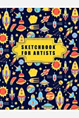 Sketchbook for Artists: Blank Pages, Sketch, Draw and Paint Paperback