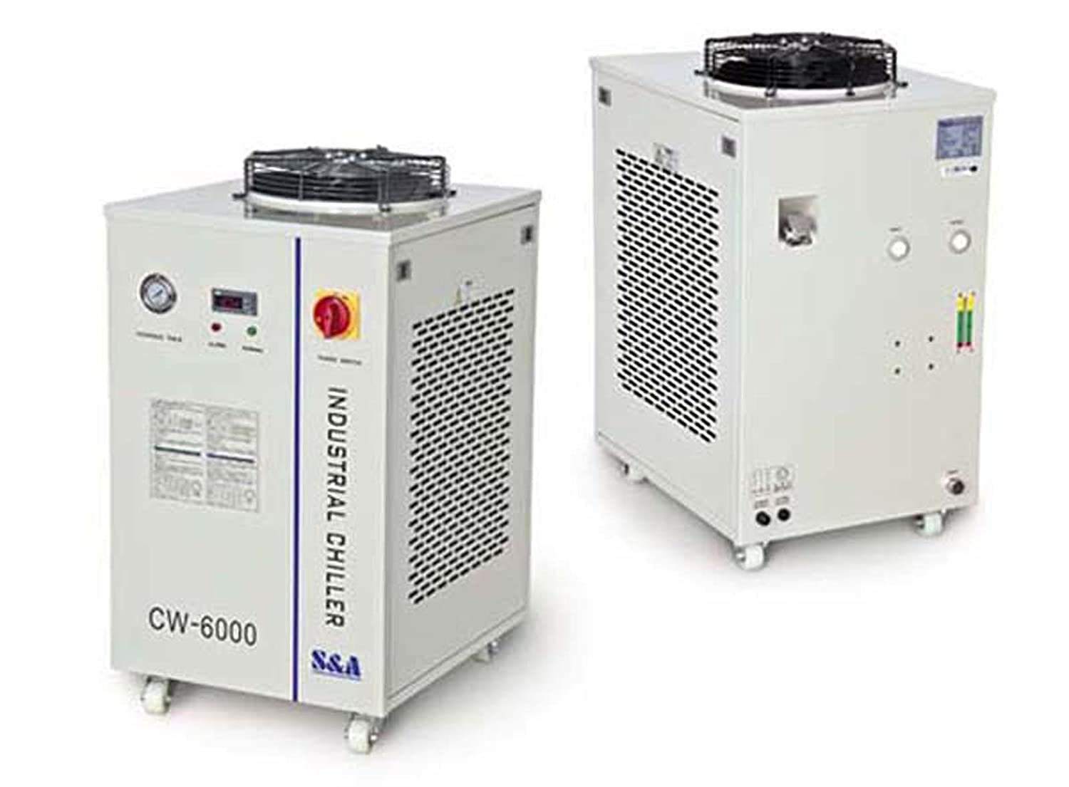 Industrial Water Chiller Cool 100W RF Laser Tube 220V 50HZ CW-6000AI