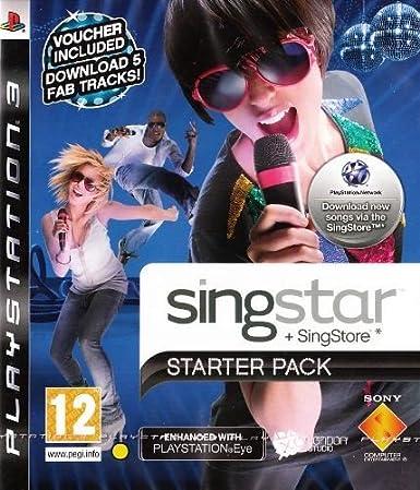 SingStar Starter Pack (Game Only) (PS3) [Importación Inglesa]: Amazon.es: Videojuegos