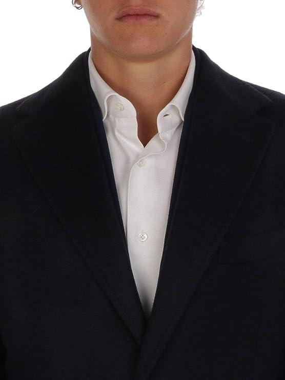 BARBA Luxury Fashion Hombre BARBA119202 Negro Abrigo | Otoño