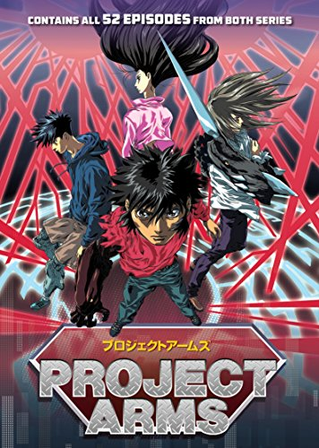 Project ARMS The Complete Series by Discotek Media