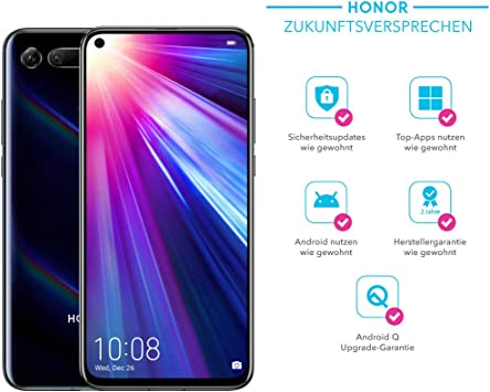 Honor View 20 128 GB Smartphone Bundle (16,3 cm (6,4 Pulgadas ...